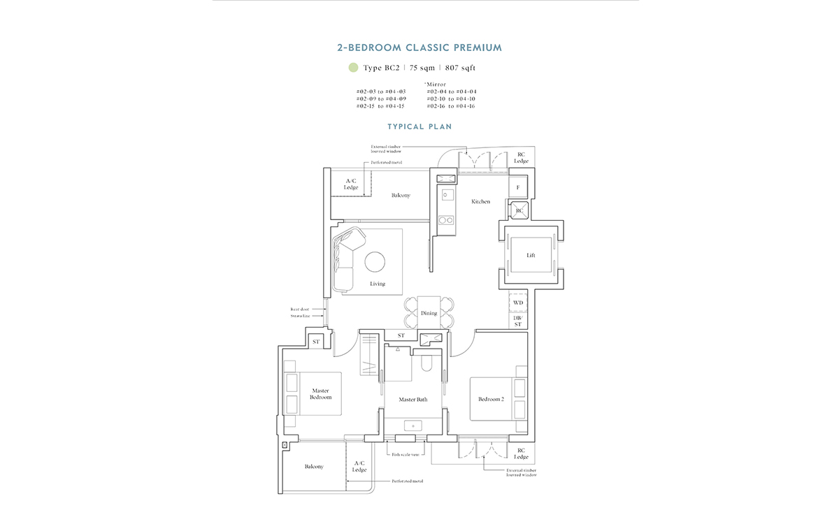 Avenue-South-Residence-2BR-Classic-Premium